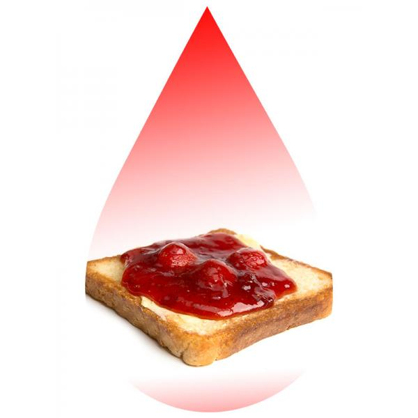 Strawberry Jam with Toast SC-RF